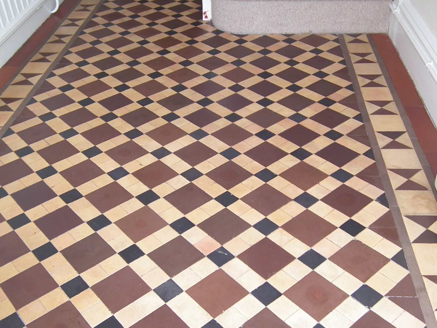 Victorian And Edwardian Floor Tile Cleaning Dempster Mosaic London